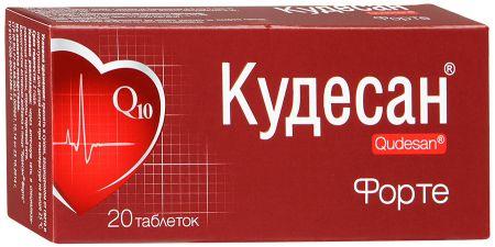 Кудесан Форте, 0.4 г, таблетки, 20 шт. — купить в Йошкар-Оле, инструкция по применению, цены в аптеках, отзывы и аналоги. Производитель Русфик